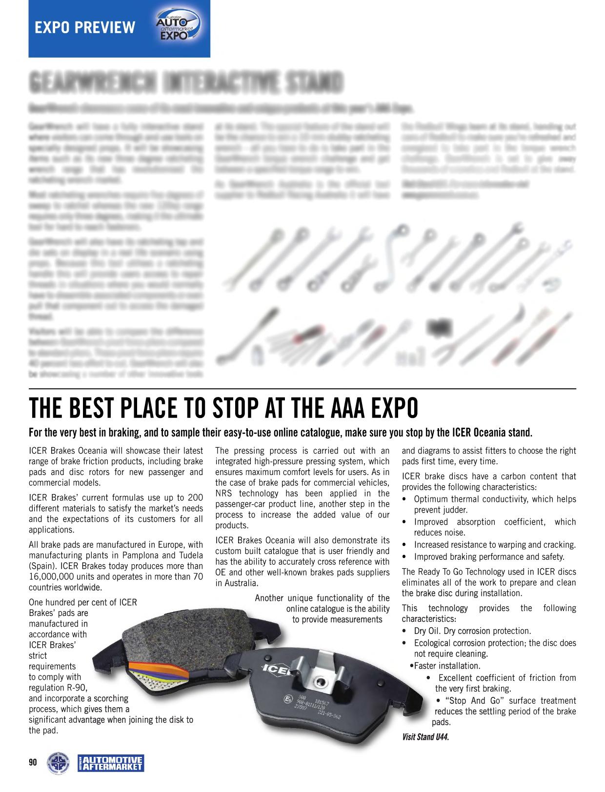 ICER Oceania AAA Expo 2015